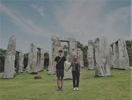 wisata jogja hits di stonehenge merapi sleman