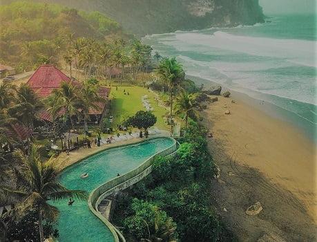 wisata terkenal di jogja pantai parangtritis