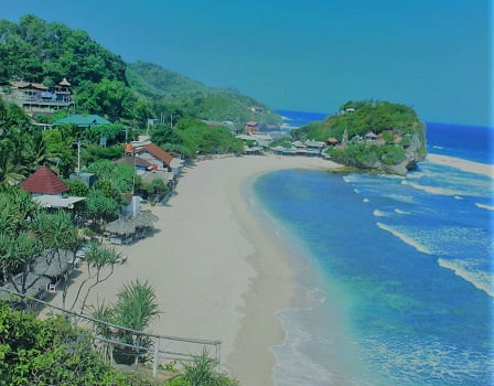 wisata pantai keren di gunung kidul yogyakarta