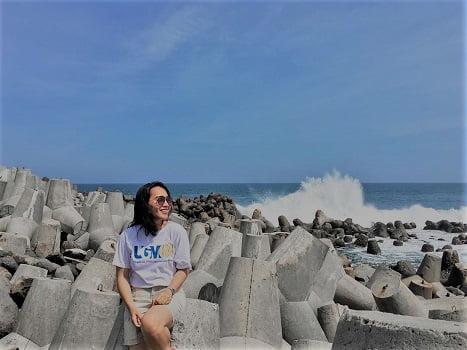 pantai keren di kulonprogo jogja pantai glagah