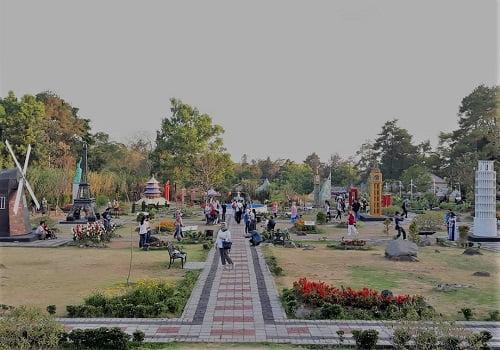 tempat wisata the world landmark merapi park jogja