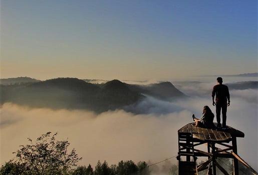 wisata popular di jogja bukit panguk kediwung
