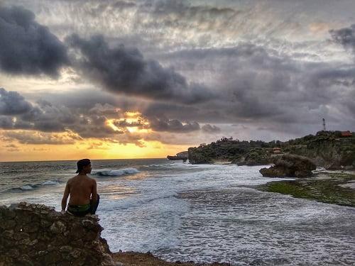 pantai kukup gunungkidul