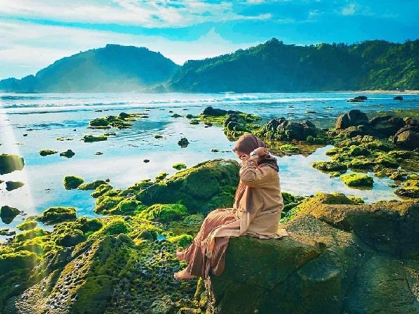 Pantai Nguyahan Gunungkidul Wisata Baru Pantai Pasir Putih di Jogja 13