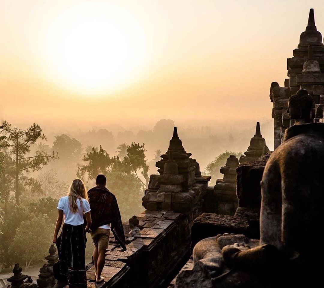 Rute Candi Borobudur Tempat Wisata Favorit Paling Populer 2