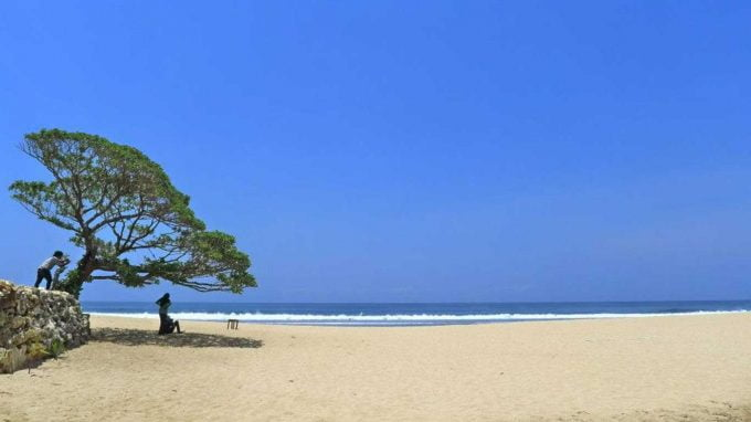 wisata pantai pok tunggal Gunungkidul Jogja